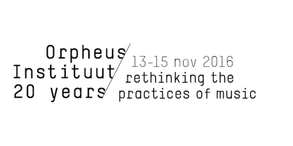 Orpheus 20 years