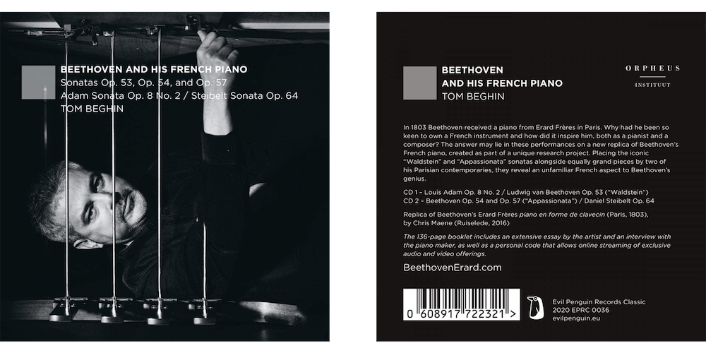 Beethoven And His French Piano Cd