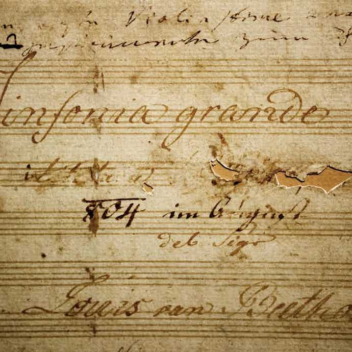 Eroica Beethoven Title