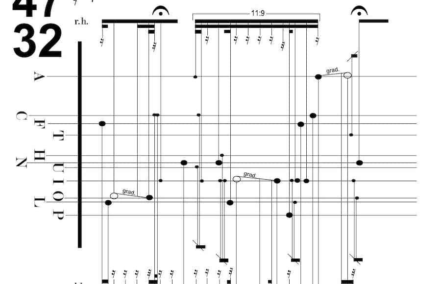 Decontextualized Notation Frgmnt 01