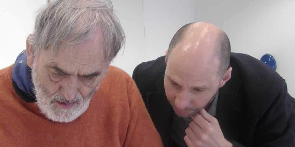 Helmut Lachenmann And Seth Josel