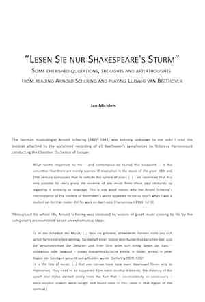Lesen Sie Nur Shakespeares Sturm