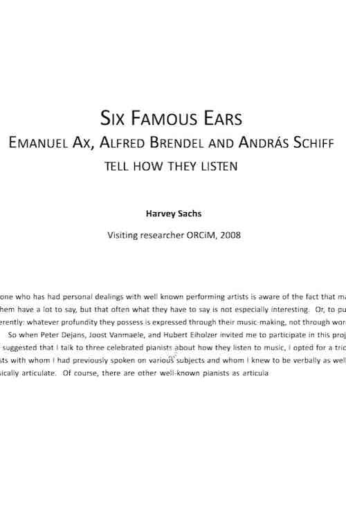 Six Famous Ears